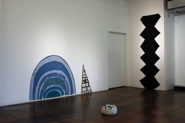Leslie Baum: Excuse Me if I Go Too Deep, installation view