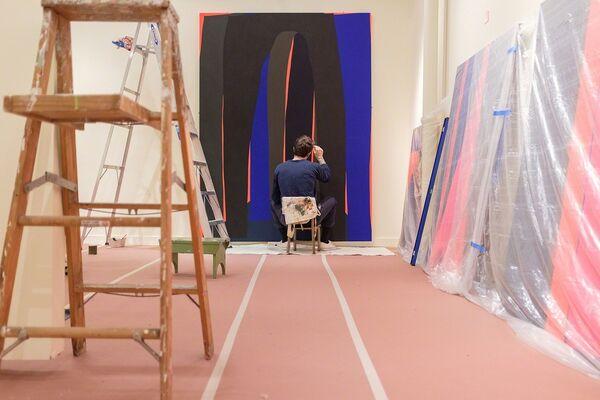 Brian Sanchez: IDLE URGE, installation view