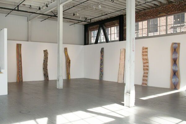 Jason Middlebrook: The Small Spaces in Between, installation view