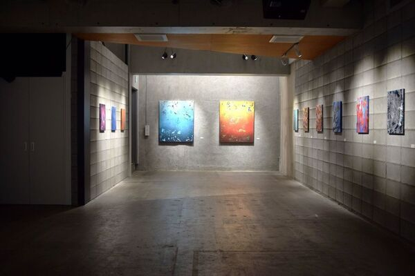 """Christian Awe solo exhibition """"Beyond the Palettes"""", installation view"""
