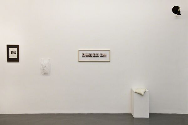Effort-performance [Group show], installation view