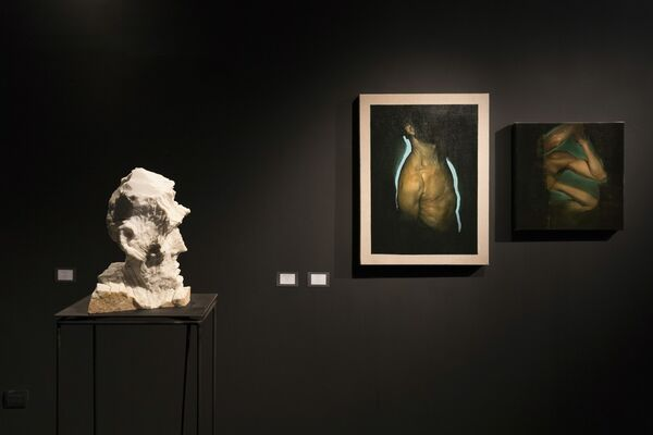 Filling in the Blanks, installation view