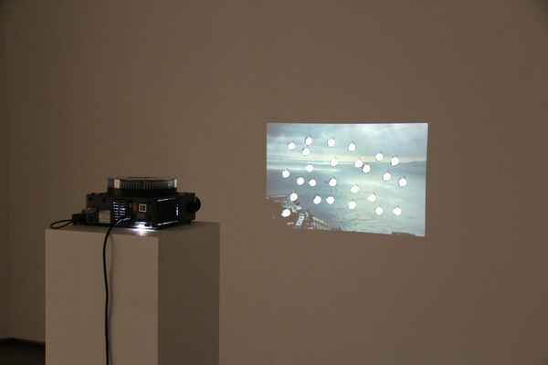 Only In The Western World, installation view