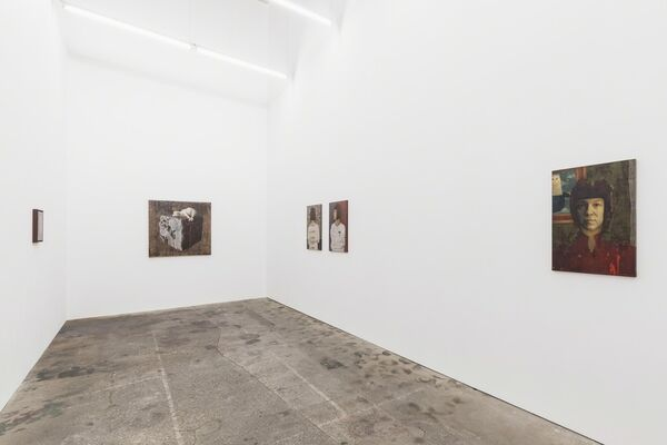 Anamaria Avram »Stille«, installation view