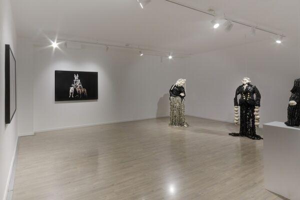 Maurice Mbikayi: MASKS OF HETEROTOPIA, installation view