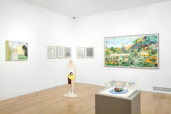 Stockholm Calling, installation view