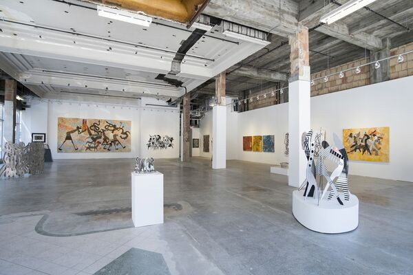 Charles McGee: STILL SEARCHING, installation view