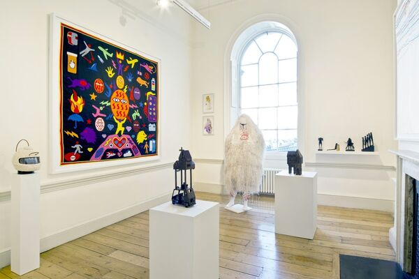 50 Golborne at 1:54 Contemporary African Art Fair London 2016, installation view