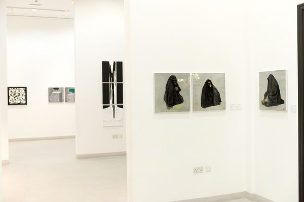 50 by 50 part 3, installation view