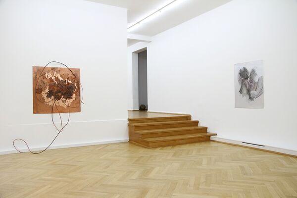 Myriam Holme, installation view