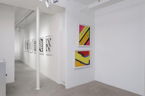 Peter Stämpfli - Ligne continue, installation view