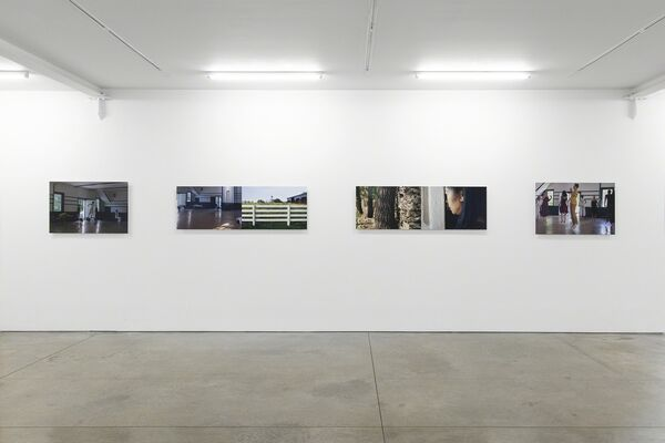 Mariam Ghani + Erin Ellen Kelly: When the Spirits Moved Them, They Moved, installation view