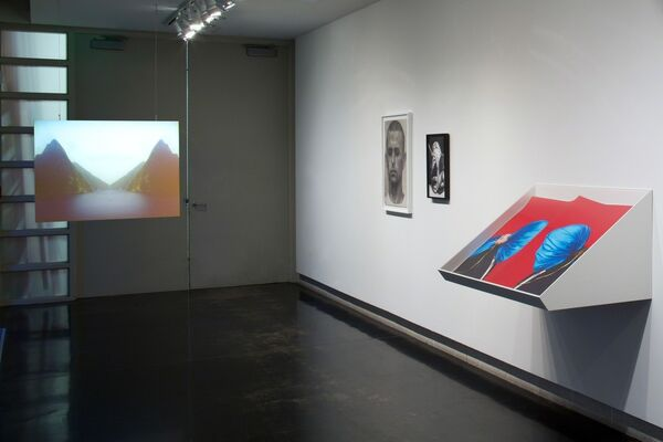 We Will Control the Vertical, installation view