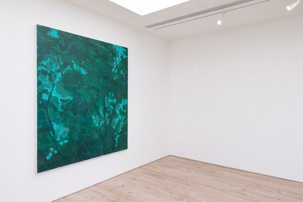 Between the Green, installation view