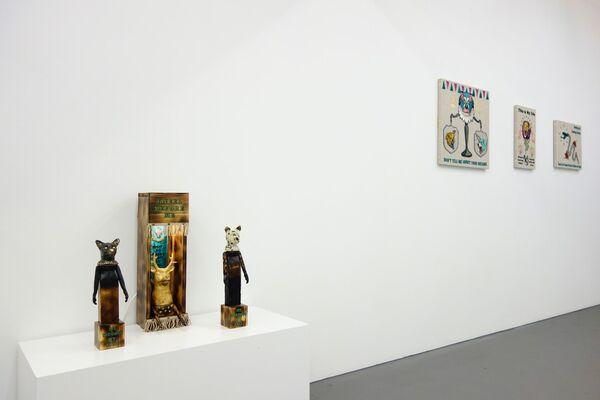 """KEMONO"" by Koichiro Takagi, installation view"