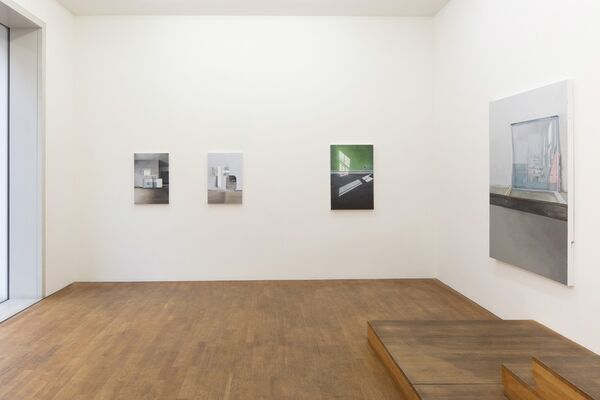 Jenny Brillhart - Where the rubber meets the road, installation view