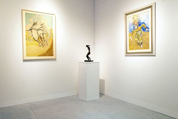 TAFETA at The Armory Show 2019, installation view