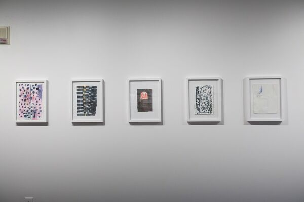 God Sees Through Houses, installation view