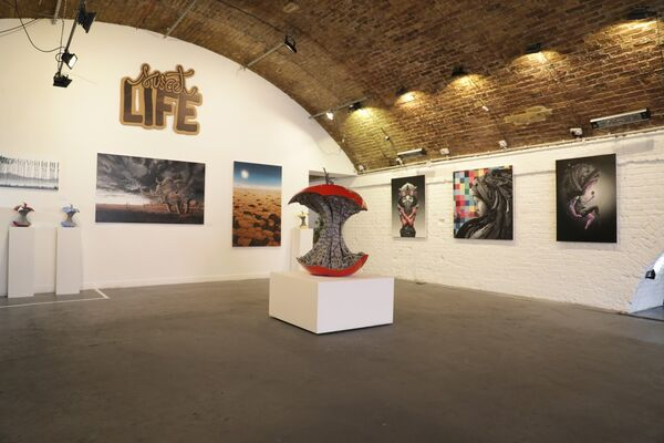 "PEZ ""SWEET LIFE"" Solo Exhibition, installation view"