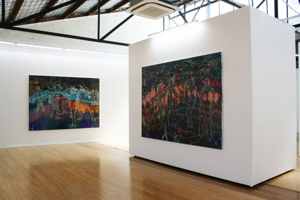 Jon Cattapan, installation view