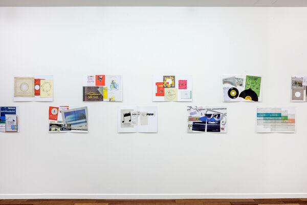 Christian Marclay and Saâdane Afif : Ephemera and Lyrics, installation view