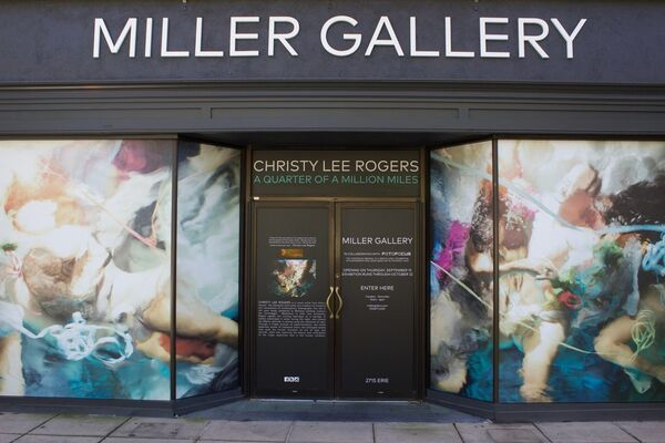 Christy Lee Rogers: A Quarter of a Million Miles, installation view