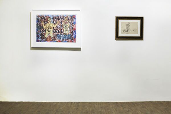 Mysteries of the Organism, installation view