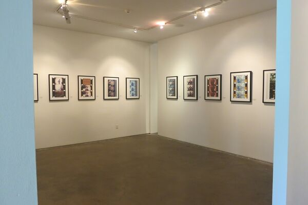 Behind the Lens, installation view