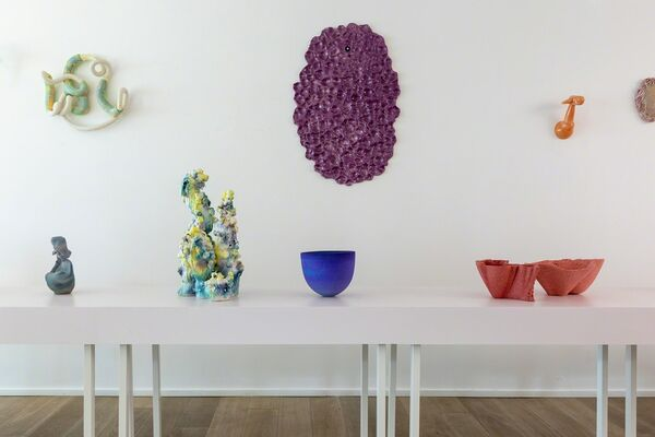CRMCS #1. A Selection of Contemporary Belgian Ceramics, installation view