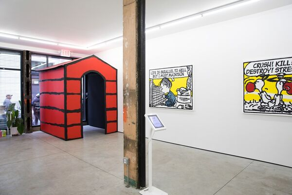Mark Drew: What Goes On?, installation view