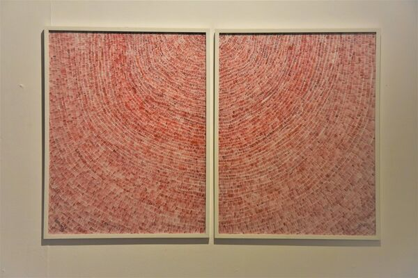 Patterns of a Tactile Score, installation view