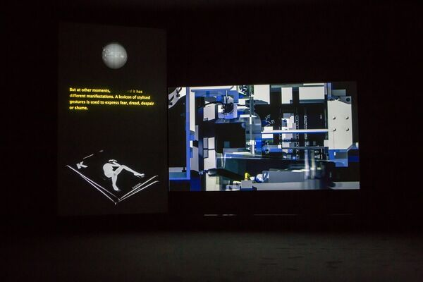 The Infinite Mix: Contemporary Sound and Video, installation view