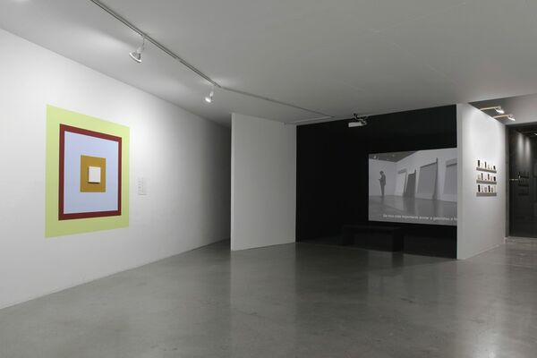 A Dominant Mode of Art Production, installation view