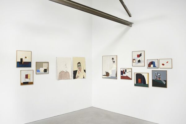 """CLARE ROJAS: """"Somehow there will be music"""" - Jane, installation view"""