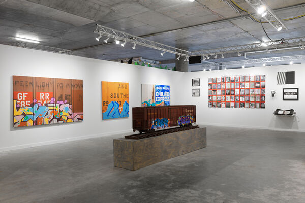 Beyond the Streets NYC, installation view