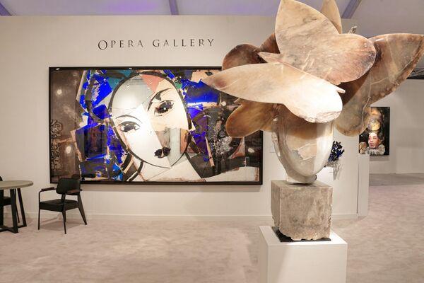 Opera Gallery at Art Miami 2018, installation view