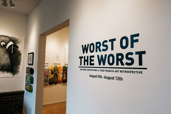 WORST OF THE WORST, installation view