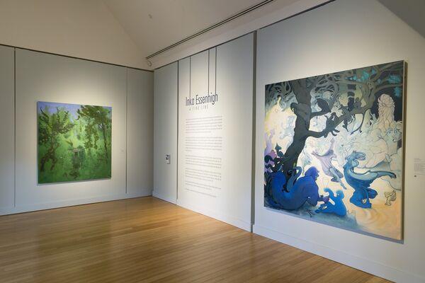 Inka Essenhigh: A Fine Line, installation view