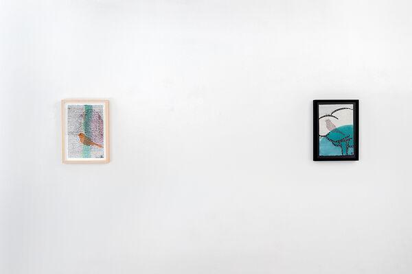 Glenn Goldberg   A Handful of Drawings, installation view