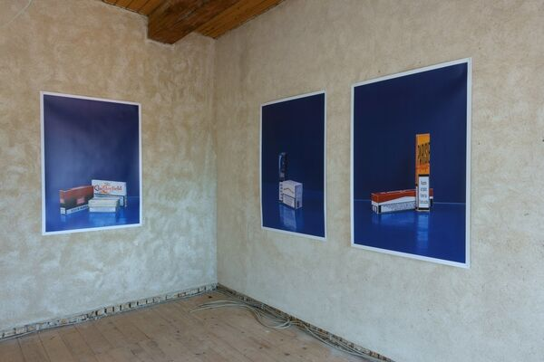 Forward to History - a duo-show with Robert Brambora & Jan Kiefer, installation view