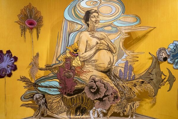 Swoon: THE LIGHT AFTER, installation view