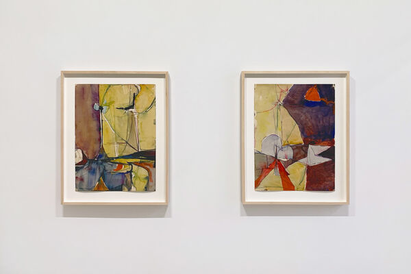Richard Diebenkorn: Paintings and Works on Paper 1946-1952, installation view