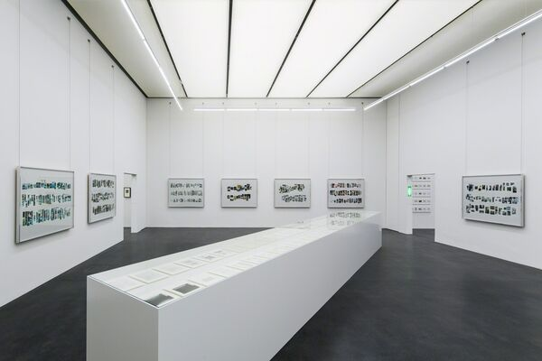 Taryn Simon: Shouting is Under Calling at Kunstmuseum Luzern, installation view