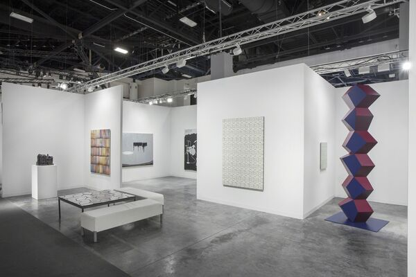 Simon Lee Gallery at Art Basel in Miami Beach 2016, installation view