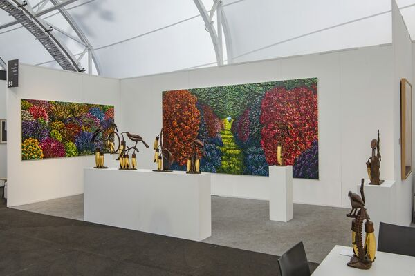 Gow Langsford Gallery at Auckland Art Fair 2019, installation view