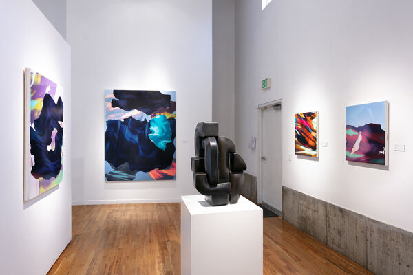 NEW WORLDS : New paintings by Lui Ferreyra & Ryan Magyar, installation view