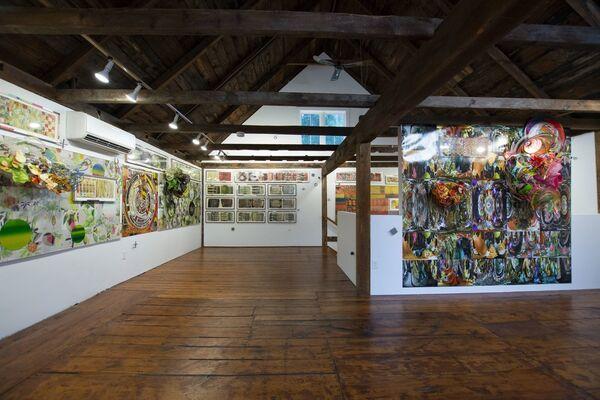 Judy Pfaff - × × × ÷ ÷ ÷ ☰ + + + ,, installation view