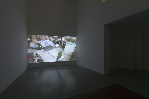 Kay Walkowiak | Divine Monochromes, installation view