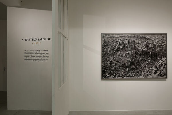 Sebastião Salgado - GOLD, installation view
