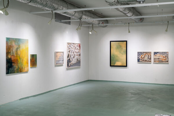 Collapse of a Mass, installation view